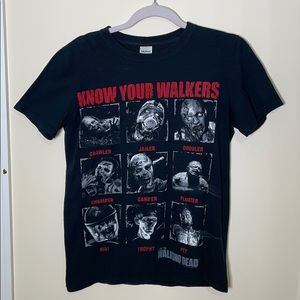 The Walking Dead Merch Black T-shirt